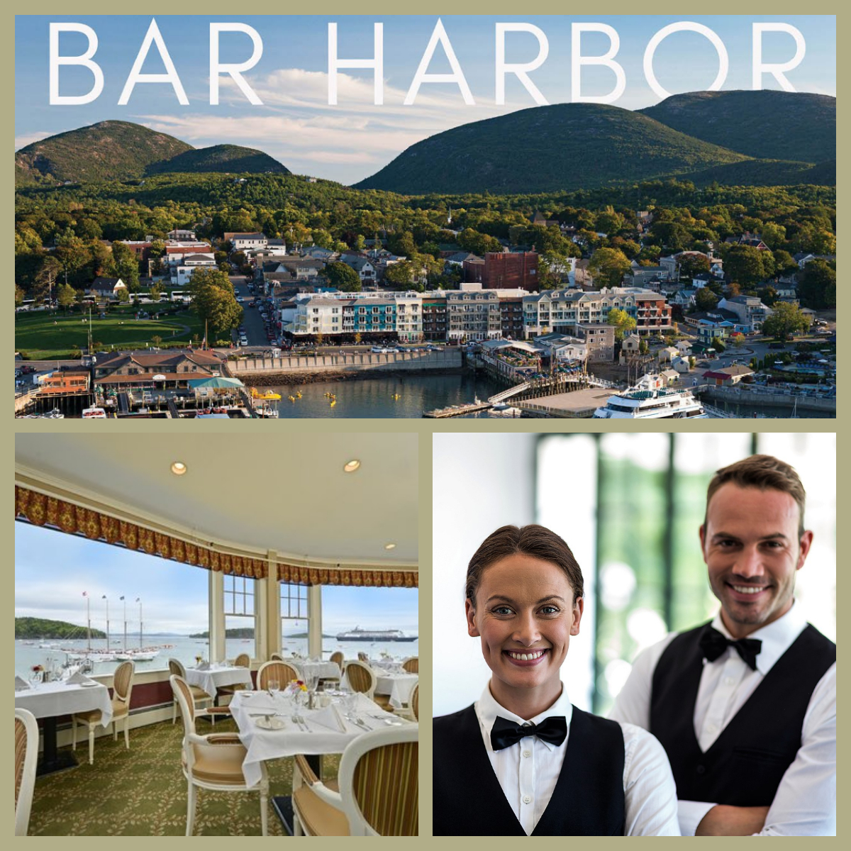 Hospitality Food and Beverage - Bar Harbor